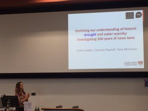 Carmen Dayrell of Lancaster University, image copyright Mathew Gillings @mathewgillings