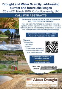 Drought conference poster