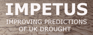 IMPETUS - Improving predictions of UK drought - project logo