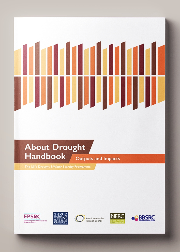 Front cover of the About Drought Handbook