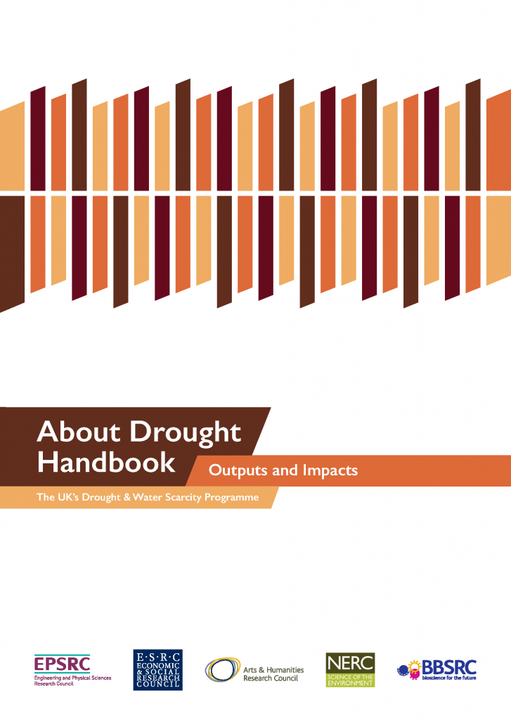 Front page of the About Drought Handbook