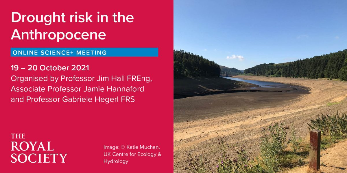 'Drought risk in the Anthropocene' Online Science+ Meeting